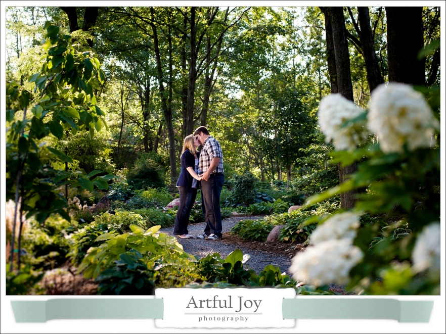 Green Bay Botanical Garden Engagement